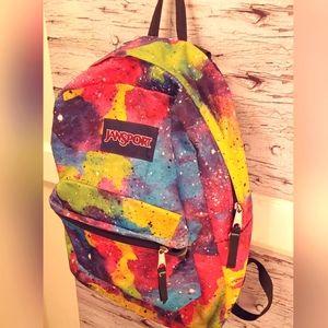 Jansport Superbreak Galaxy Print Backpack